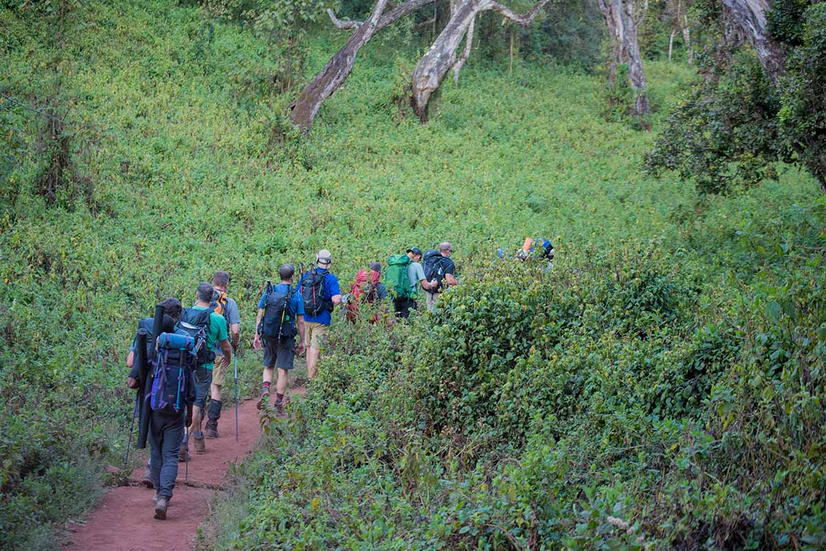 Kilimanjaro machame route 7 days